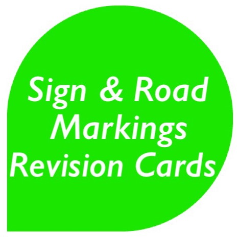 sign and road markings