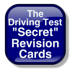 Secret revision cards to pass driving test